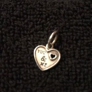 Pandora Heart Shaped Dangle Charm